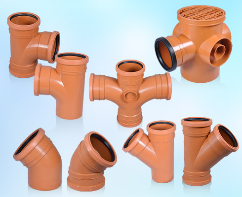 uPVC U/G Sewer Pipes & Fittings